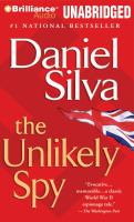 Cover image for The unlikely spy