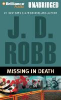Cover image for Missing in death
