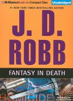 Cover image for Fantasy in death