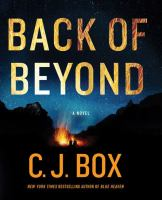 Cover image for Back of beyond