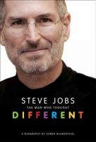 Cover image for Steve Jobs the man who thought different