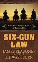 Cover image for Six-gun law a Western duo