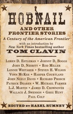 Cover image for Hobnail and other frontier stories : a century of the American frontier