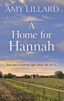 Cover image for A home for Hannah