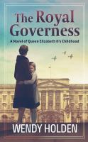 Cover image for The royal governess