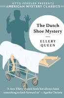 Imagen de portada para The Dutch shoe mystery