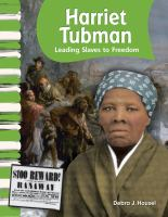 Cover image for Harriet Tubman : leading slaves to freedom