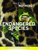 Cover image for Endangered species