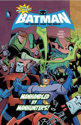 Cover image for Manhandled by manhunters!