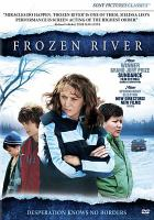 Cover image for Frozen river