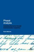 Cover image for Phasal analysis analysing discourse through communication linguistics