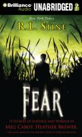 Cover image for Fear 13 stories of suspense and horror