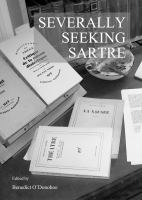 Cover image for Severally seeking Sartre