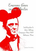 Cover image for Emerson goes to the movies  individualism in Walt Disney Company's post-1989 animated films