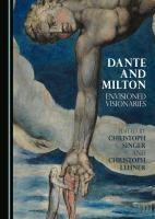 Cover image for Dante and Milton  envisioned visionaries