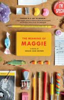 Cover image for The meaning of maggie