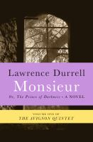 Cover image for Monsieur, or, The Prince of Darkness
