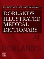 Cover image for Dorland's illustrated medical dictionary.