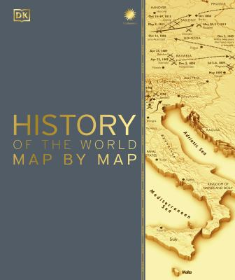 Cover image for History of the world map by map