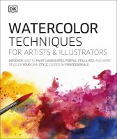 Cover image for Watercolor techniques for artists & illustrators