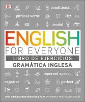 Cover image for English for everyone : libro de ejercicios. Gramática inglesa.
