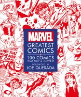 Cover image for Marvel greatest comics : 100 comics that built a universe