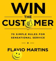 Cover image for Win the customer 70 simple rules for sensational service