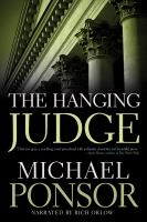 Cover image for The hanging judge