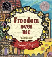 Cover image for Freedom over me : eleven slaves, their lives and dreams brought to life