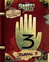 Cover image for Gravity Falls journal. 3