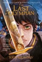 Cover image for The last Olympian the graphic novel