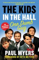 Cover image for The Kids in the Hall : one dumb guy