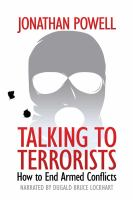 Cover image for Talking to terrorists