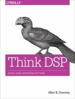 Cover image for Think DSP : digital signal processing in Python