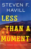 Cover image for Less than a moment