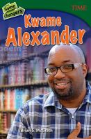 Cover image for Kwame Alexander