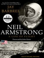 Cover image for Neil Armstrong a life of flight