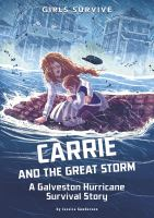 Cover image for Carrie and the Great Storm : a Galveston Hurricane survival story