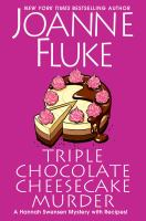 Cover image for Triple chocolate cheesecake murder