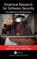 Cover image for Empirical research for software security  foundations and experience