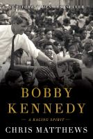 Cover image for Bobby Kennedy : a raging spirit