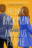 Cover image for Anxious people