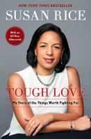 Cover image for Tough love : my story of the things worth fighting for