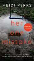 Cover image for Her one mistake