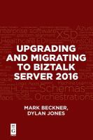 Cover image for Upgrading and migrating to BizTalk server 2016