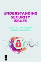 Cover image for Understanding security issues