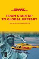 Cover image for DHL from startup to global upstart