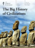 Cover image for The big history of civilizations