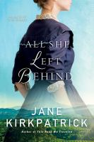 Cover image for All she left behind