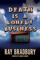 Cover image for Death is a lonely business
